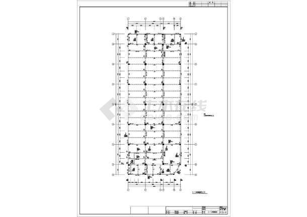 某地保健中心全套结构CAD图纸-图2