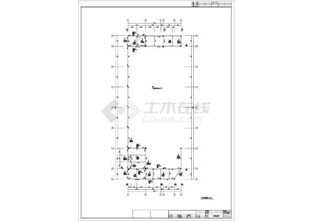 某地保健中心全套结构CAD图纸-图3