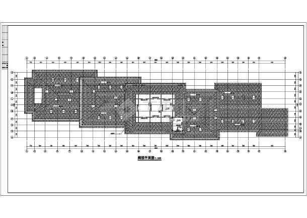 某市高档宾馆建筑结构cad设计施工图-图2