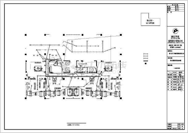 [江西]高档酒店电气施工图带车库-图1