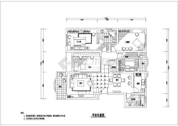家居室内装潢各房间设计方案图-图1
