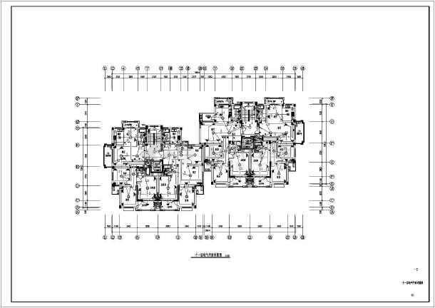 点击查看[浙江]高档住宅社区电气施工图第1张大图