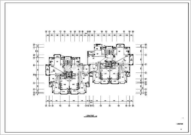 点击查看[浙江]高档住宅社区电气施工图第2张大图