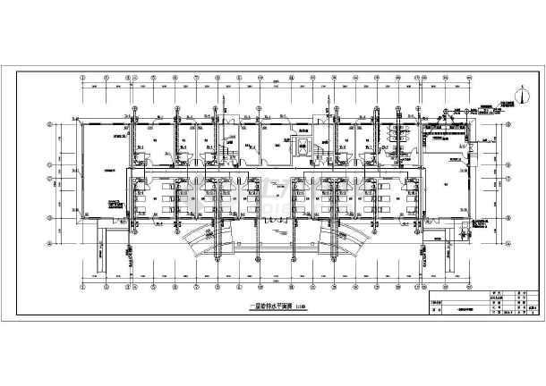 点击查看安徽老年公寓给排水施工图第1张大图