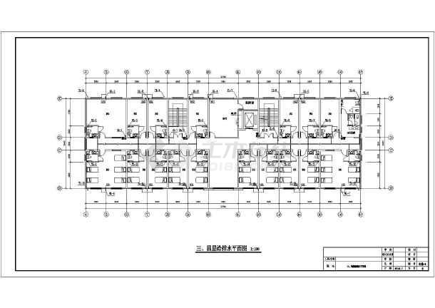安徽老年公寓给排水施工图-图2