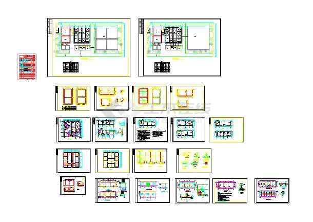 高浓度甲醛废水处理设计施工图纸-图1