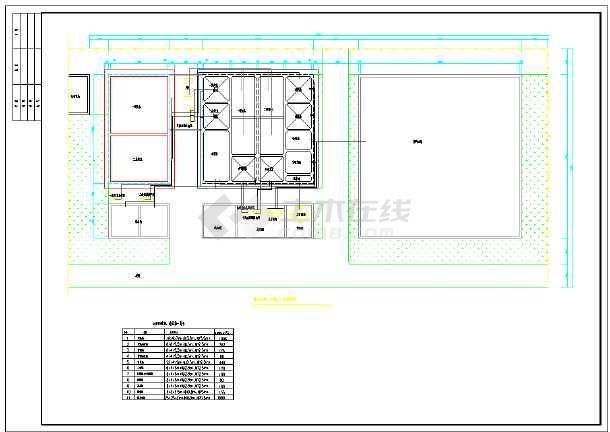 高浓度甲醛废水处理设计施工图纸-图2