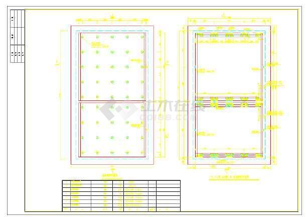 高浓度甲醛废水处理设计施工图纸-图3