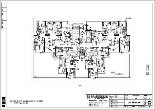 [河南]32层商住楼电气施工图-图1