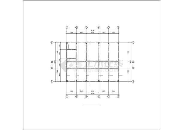 点击查看某五层框架卫生院结构设计图第1张大图