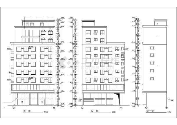 某地私宅建筑设计方案图-图1