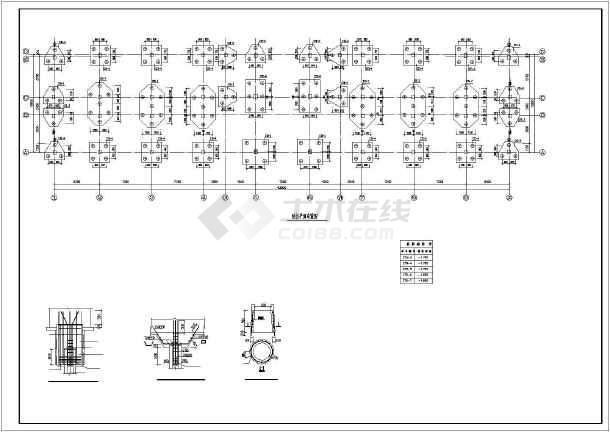 某5层办公楼结构设计图-图1