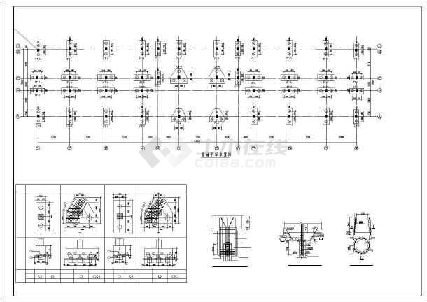 某5层办公楼结构设计图-图2