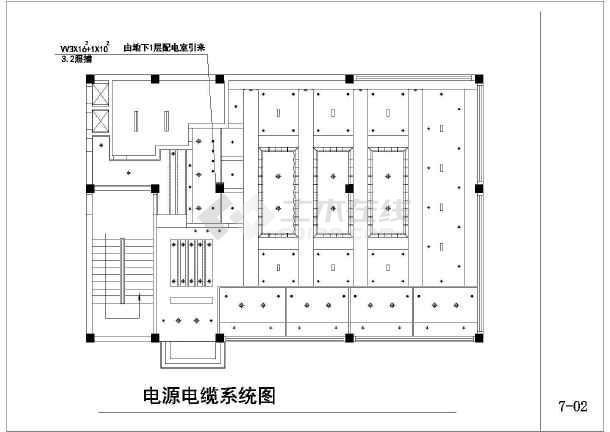 高档咖啡厅电气设计施工图-图2