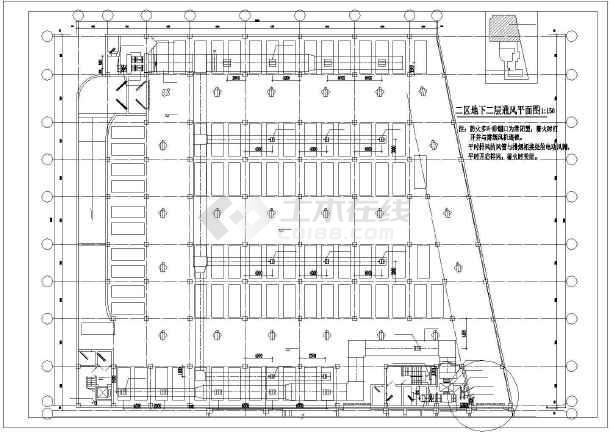 点击查看北京某综合楼暖通空调图纸第1张大图