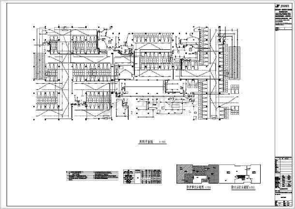 [海南]职业学院地下人防工程电气施工图-图2