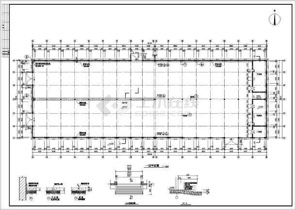 某厂房建筑施工图附总图-图2