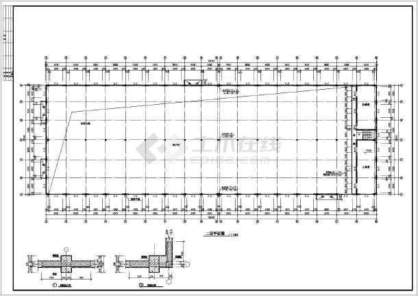 某厂房建筑施工图附总图-图3