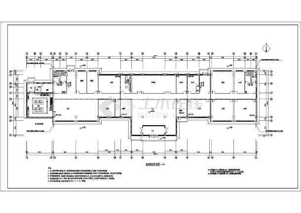 [内蒙古]海关监管办公楼电气全套施工图(甲级院)-图一