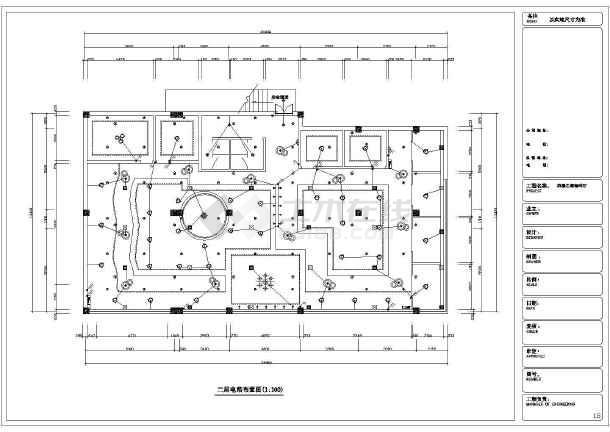 点击查看浪漫之都咖啡厅全套装修设计图第2张大图