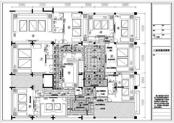 KTV娱乐会所装修设计施工图-图一