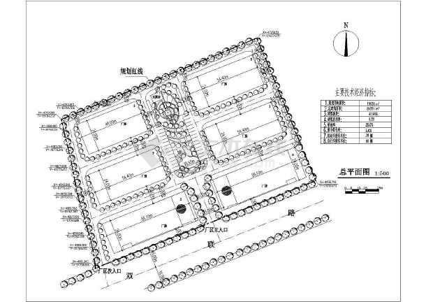 某工厂规划设计方案图-图1