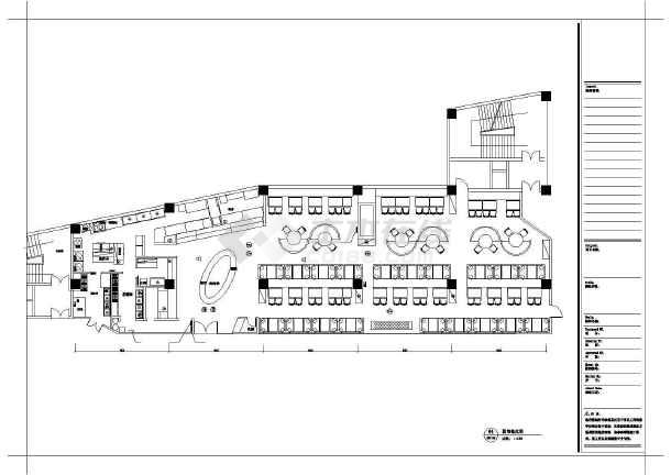 时尚火锅店装饰设计施工图-图2