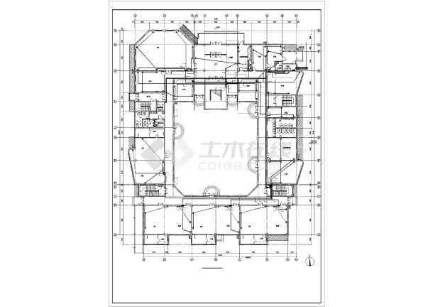 某四层幼儿园电气全套施工图-图1