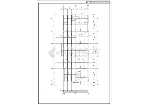 四平某住宅楼结构设计图-图1