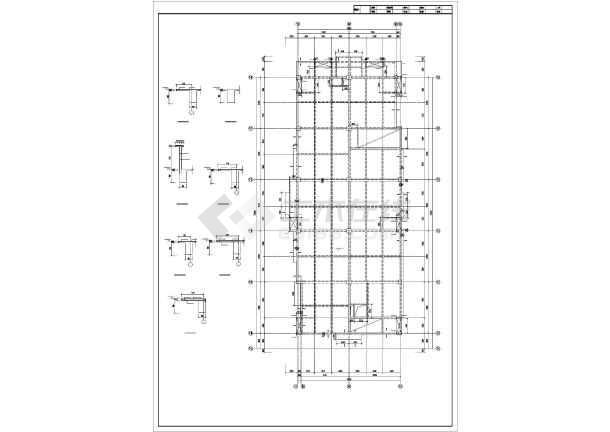 四平某住宅楼结构设计图-图2