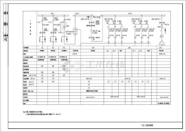 某地比较经典的广场电气cad设计图-图1