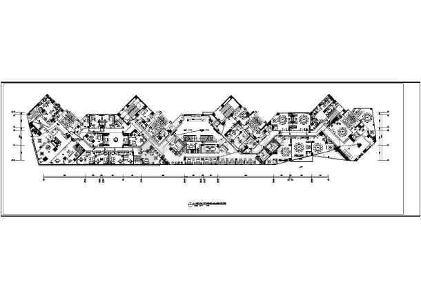 [安徽]知名大型茶楼强电施工图-图1