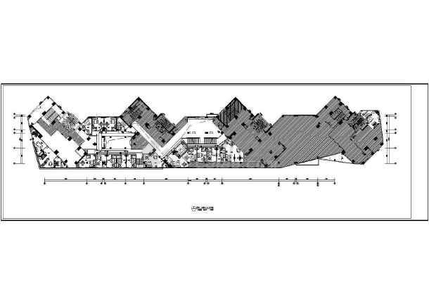 [安徽]知名大型茶楼强电施工图-图2