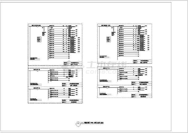 [安徽]知名大型茶楼强电施工图-图3
