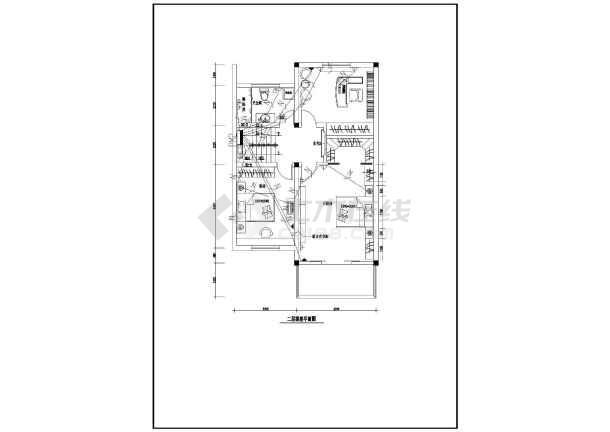 某新型别墅电气设计图CAD图纸-图3