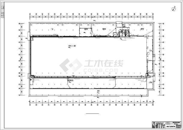 [四川]科技车间厂房电气施工图-图2
