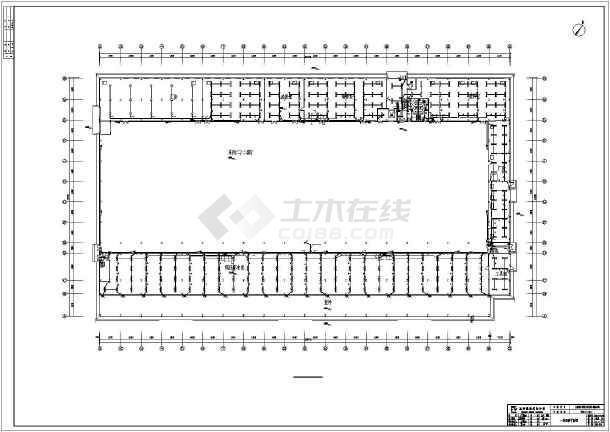 [四川]科技车间厂房电气施工图-图3