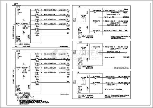 [陕西]高层住宅电气施工图(甲级院最新设计)-图一