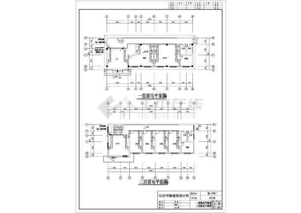 [湖南]知名厂家饲料厂区建筑群全套电气施工图(含总图)-图3