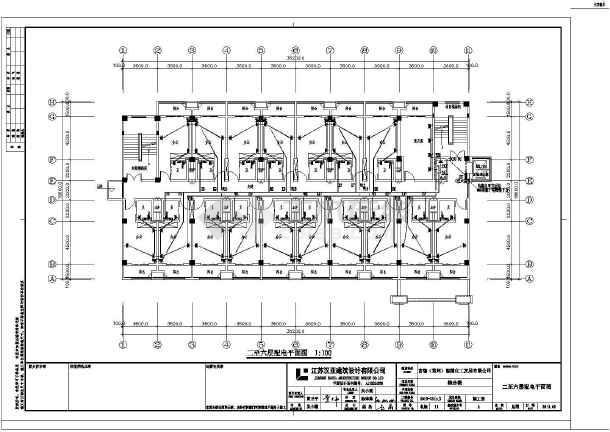[江苏]综合办公楼电气施工图-图3