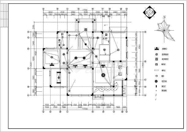 点击查看整套欧式别墅设计装修图第2张大图