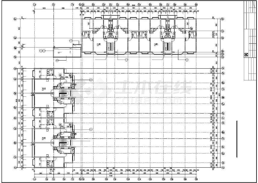 某地多层住宅楼建筑设计图-图3