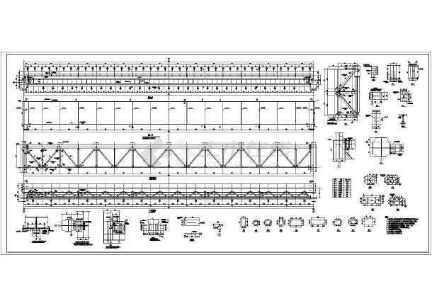 某50t吊车梁设计图纸-图1