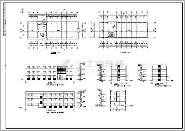 某厂房方案设计图-图2