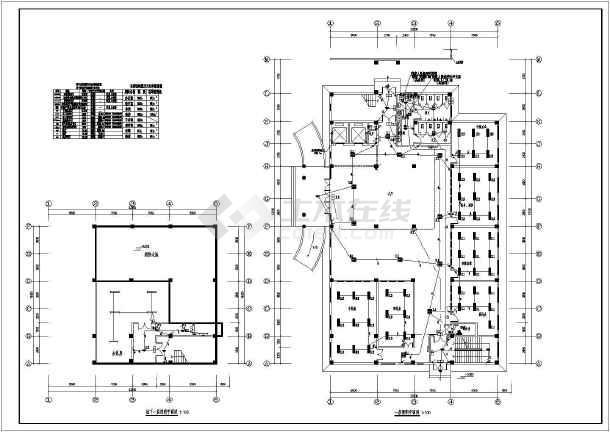 [河南]中医院综合病房楼电气全套施工图-图3