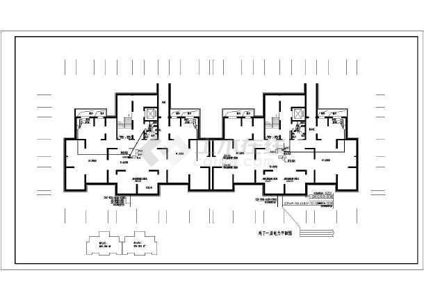 点击查看[陕西]27层高层住宅电气施工图第1张大图