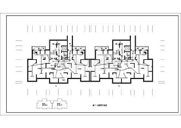 [陕西]27层高层住宅电气施工图-图1