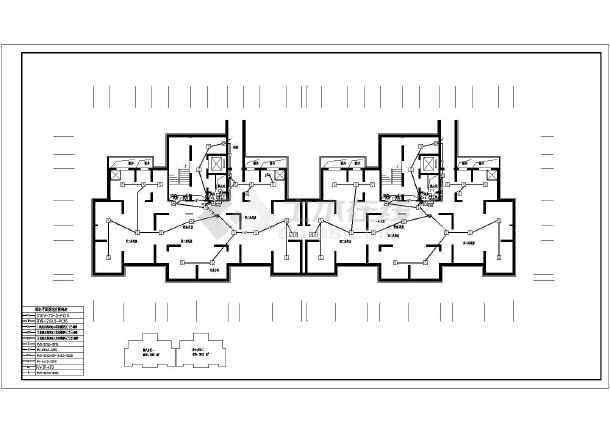 [陕西]27层高层住宅电气施工图-图2