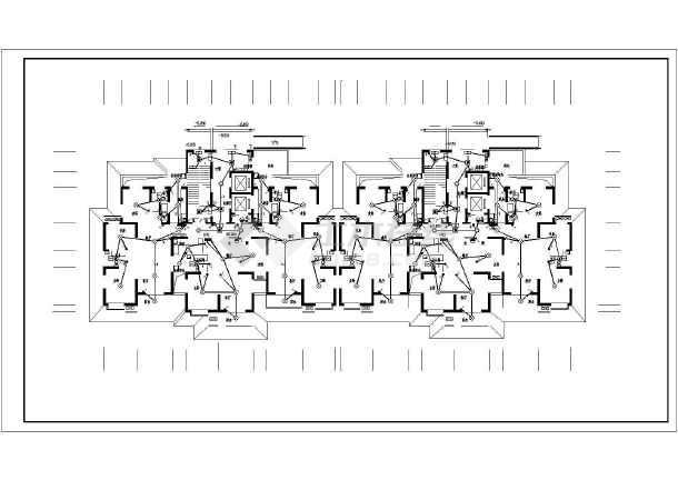 [陕西]27层高层住宅电气施工图-图3