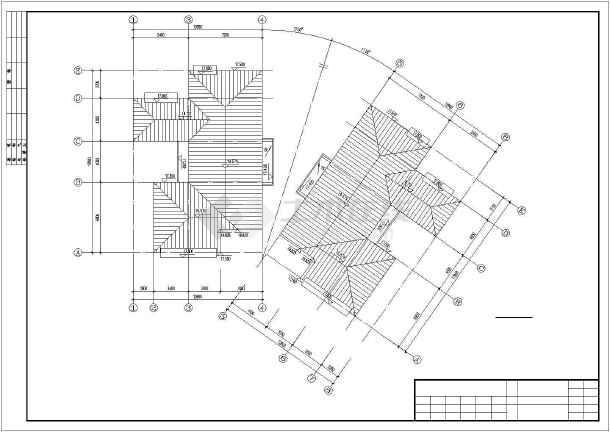 广州某复式公寓建筑扩出cad施工图-图一
